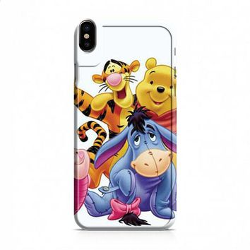 Winnie The Pooh group shot iPhone X case