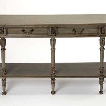 Butler Merrion Silver Stain Console Table