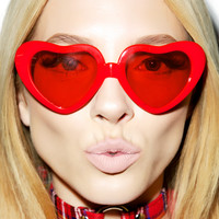 Sweetheart Sunglasses RED One