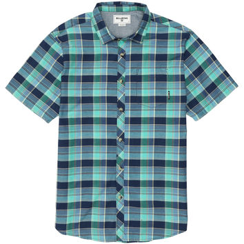 Billabong Boys' Boys Midway Short Sleeve Woven