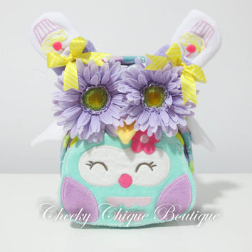 NEW Diaper Cake, Owl Diaper Cake, Owl, Jungle, Centerpiece, Baby Girl Gift, Baby Shower Gift, Blanket, Bib