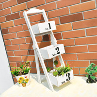 Wooden White Rack Miniascape [6282896902]