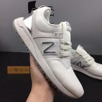 DCCK1IN cxon new balance nb247 mesh shoes white for women men running sport casual shoes sneakers
