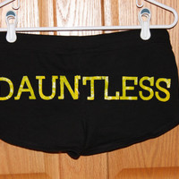 Dauntless Inspired Shorts with Flames
