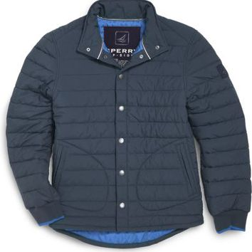 Sperry Top-Sider Harbor Puffer Jacket Navy, Size S  Men's
