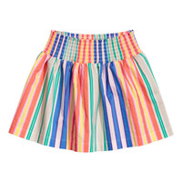 Cotton Skirt with Smocking - from H&M