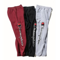 Champion Leisure Letters Printed Pants