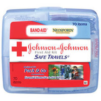 Johnson & Johnson Red Cross Safe Travels First Aid Kit | Walgreens
