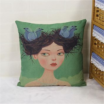Home Decor Pillow Cover 45 x 45 cm = 4798368388