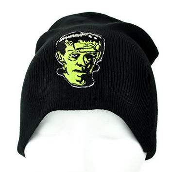 Classic Monster Movie Frankenstein Beanie Clothing Knit Cap Creature Feature