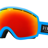 Electric - Eg2 Code Blue +Bl Goggles, Bronze/Red Chrome Lenses