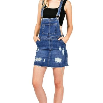 Jaded Overall Dress