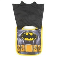 BATMAN Baby Bib With Cape, One Size Fits Most, Licensed DC Comics Merchandise