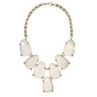 Kendra Scott Harlow Statement Necklace in White