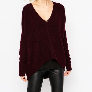 Gestuz Gaby Pullover With V-Neck