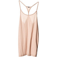 Tops Umeko tank Beige Light