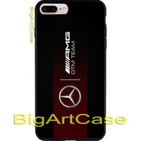 Mercedes Amg Carbone DTM Team Print On Hard Plastic CASE iPhone 6s/6s+/7/7+/8/8+