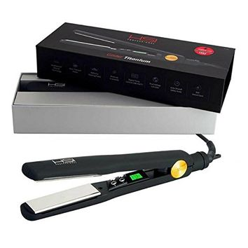HSI Professional | The Glider Titanium Hairstyling Flat Iron | Tourmaline Ionic Hair Straightener |...