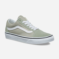 VANS Old Skool Desert Sage & True White Womens Shoes