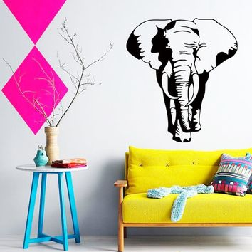 Art Design cheap home decoration Vinyl Thailand elephant Wall Stickers removable house decor cool animal decals in family rooms