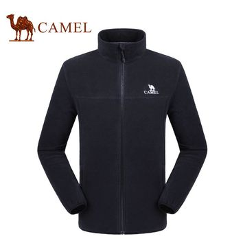 CAMEL Men Women's Winter Fleece Softshell Jacket Outdoor Sports Coats Hiking Camping Skiing Trekking Male Female Jackets
