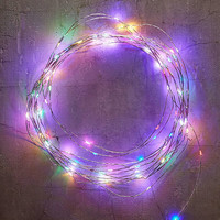 Extra-Long Multi-Colored Blinking String Lights | Urban Outfitters