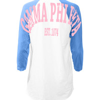 Gamma Phi Beta Baseball Stadium Jersey