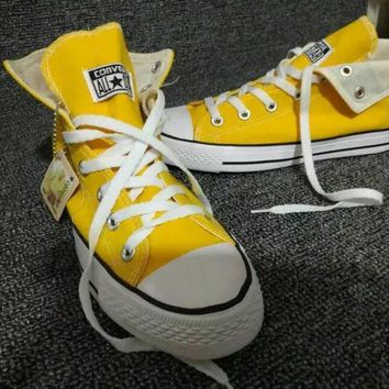 """""""Converse Chuck Taylor All Star"""" Women Sport Casual High Help Shoes Canvas Shoes Class"""