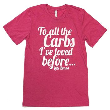 LHTX All The Carbs Berry Triblend T-Shirt