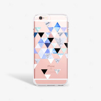 iPhone SE Case Clear Marble iPhone 6S Plus Case Clear Marble iPhone 6 Case Note 5 Case iPhone 6 Plus Case Clear Marble PRINT not Real Marble