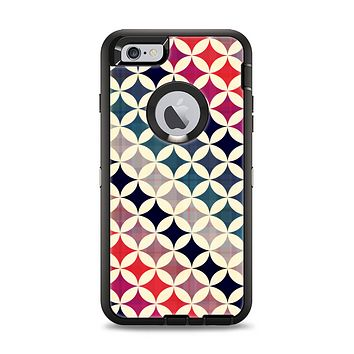 The Overlapping Retro Circles Apple iPhone 6 Plus Otterbox Defender Case Skin Set