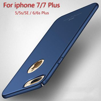 Ultra Thin  Luxury Phone Case Back Cover For Apple Iphone 7 7 Plus 6 6s 5 5s SE Cases Fashion For Iphone6s Phone Back Cover
