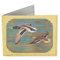 Mallard Ducks Flying Tyvek Wallet