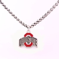 Ohio State Buckeyes Necklace