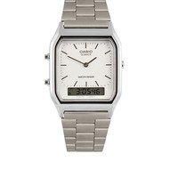 Casio AQ-230A-7DMQYES Digital Bracelet Watch - Silver - Silver