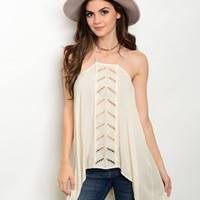 Ivory and Lace Tunic