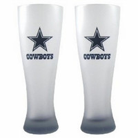 NFL Dallas Cowboys 23-Ounce Frosted Pilsner Glass