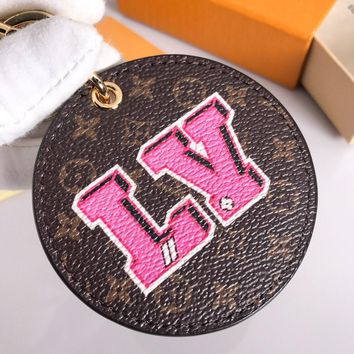Louis Vuitton Lv M63761 Stories Bag Charm And Key Holder