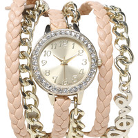 Love Wrap Watch   Shop Jewelry at Wet Seal