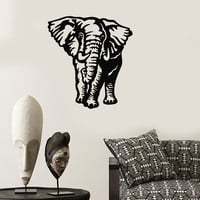 Wall Stickers Vinyl Decal Elephant Animal Coolest Room Home Decor (ig813)