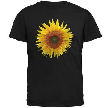 ESBGQ9 Giant Sunflower Mens T Shirt