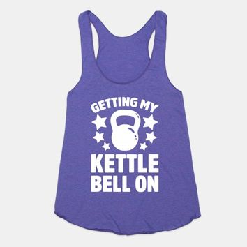 Getting My Kettle Bell On
