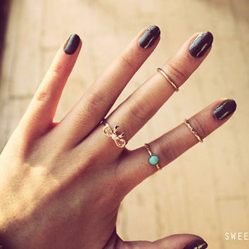 Dainty Rings, Rings, Gold Ring, Silver Ring, Band Ring, Knuckle Rings