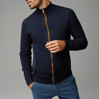 QUILTED JACKET WITH POCKETS - View all - Sweaters & Cardigans - MEN - United Kingdom