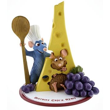 disney parks epcot ratatouille bistrot chez remy resin figure new with tags