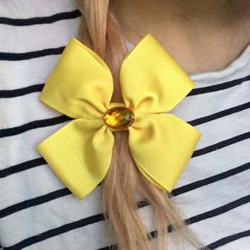 Disney Belle Beauty and the Beast Character Hair Bow