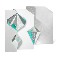 Ice Crystals Holiday Cards