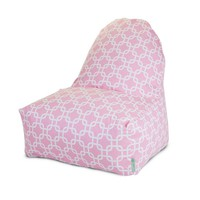 Printed Kick-It Chair - Links - Soft Pink