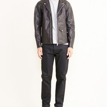 nonnative Rider Blouson Cow Leather in Black - MOHAWK MAN
