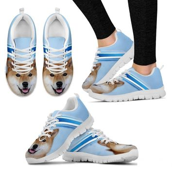 Akita Dog Running Shoes For Women-Free Shipping